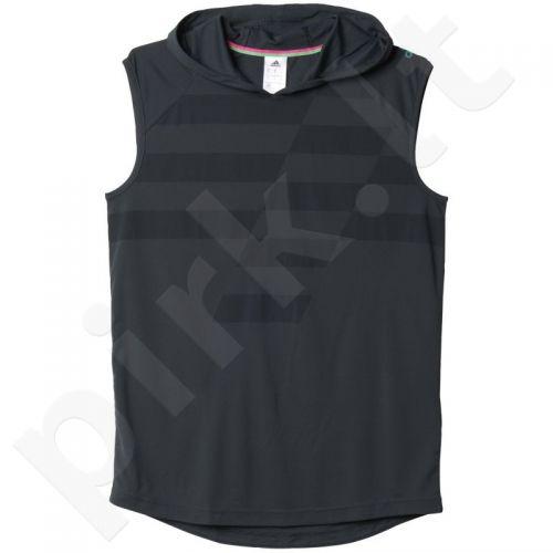 Marškinėliai futbolui su gobtuvu Adidas Ufb Hoddy M AJ9529