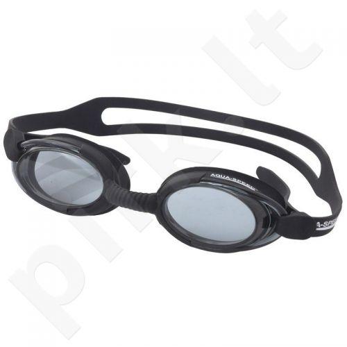 Plaukimo akiniai Aqua-Speed Malibu juodas