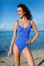 Maudymosi kostiumėlis moterims BASIC 2106 50 36B blue