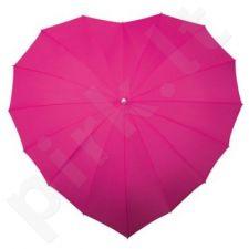 Širdies formos skėtis