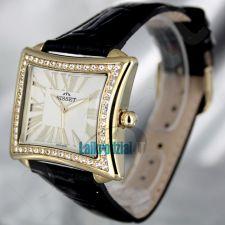 Moteriškas laikrodis BISSET Tosca BS25C09Q LG WH BK