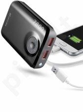 7800 mAh išorinė baterija FREEPOWER Cellular juoda