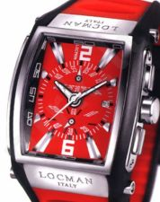 Laikrodis LOCMAN TREMILA OVERSIZE RED 026000RDNWH5BKR