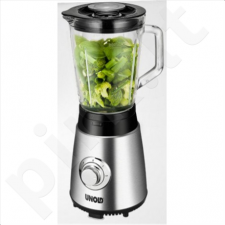 Unold Power Smoothie to go Blender 78685 Stainless steel/black, 250 W, Glass, 0,8 L, Ice crushing, 17000/ 24000 RPM