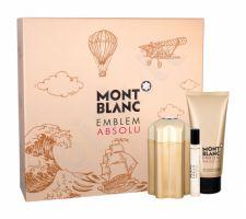 Montblanc Absolu, Emblem, rinkinys tualetinis vanduo vyrams, (EDT 100 ml + EDT 7,5 ml + dušo želė 100 ml)
