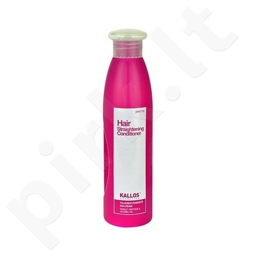 Kallos Hair Straightening kondicionierius, 300ml, kosmetika moterims