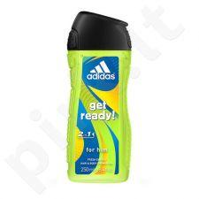 Adidas Get Ready!, dušo želė vyrams, 400ml