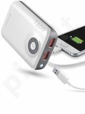 7800 mAh išorinė baterija FREEPOWER Cellular balta