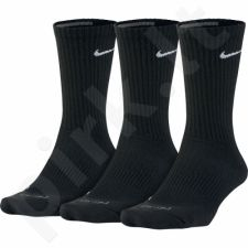 Kojinės Nike Dri-FIT Cushion Crew Training Sock 3 poros W SX4838-010