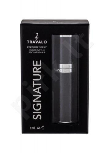 Travalo Signature, daugkartinis (papildymas (refill)able) moterims ir vyrams, 5ml, (Black)