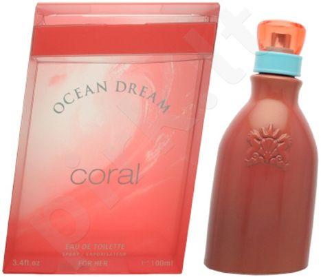 Ocean Dream Coral, tualetinis vanduo (EDT) moterims, 50 ml