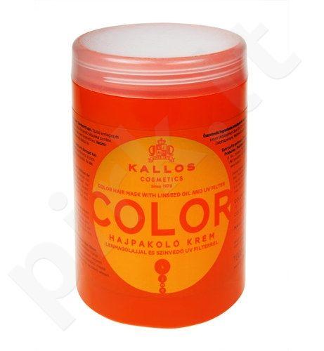Kallos Color plaukų kaukė, 1000ml, kosmetika moterims