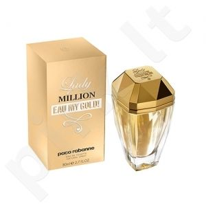 PACO RABANNE LADY MILLION EAU MY GOLD! EDT vapo 80 ml moterims