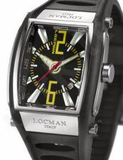 Laikrodis LOCMAN TREMILA BLACK 026100BKNYL5BKK
