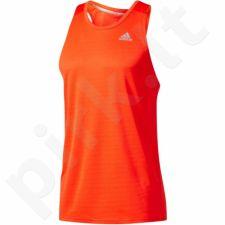 Marškinėliai bėgimui  Adidas Response Singlet M BP7473