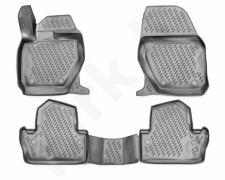 Guminiai kilimėliai 3D VOLVO S60 2010->, 4 pcs. /L64001G /gray