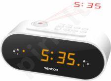 Radio Alarm Clock with Projector SENCOR SRC 3100 W