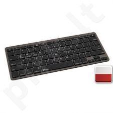 Bluetooth Keyboard Polish Dark Grey, PL
