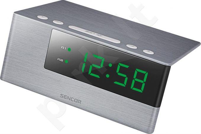Digital Alarm Clock SENCOR SDC 4600 GN