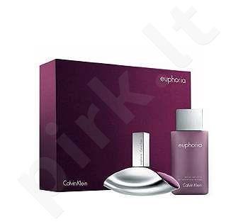 Calvin Klein Euphoria, rinkinys kvapusis vanduo moterims, (EDP 100ml + 100ml kūno losjonas)