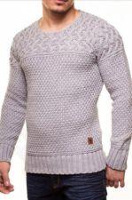 Vyriškas megztinis CRSM - pilka 9503-3