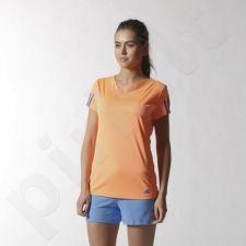 Marškinėliai tenisui Adidas Response Tee W S15780