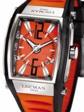 Laikrodis LOCMAN TREMILA ORANGE 026100ORNBK5BKO