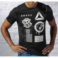 Marškinėliai bėgimui  Reebok One Series Running Short Sleeve Tee M AJ0453