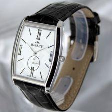 Universalus laikrodis BISSET Slim Palu BS25C35 MS WH BK