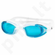Plaukimo akiniai Aqua-Speed Marea balta-mėlyna