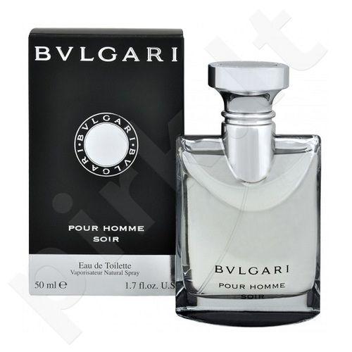 Bvlgari Pour Homme Soir, tualetinis vanduo (EDT) vyrams, 100 ml