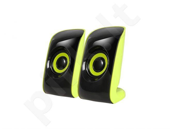 Speakers 2+0 TRACER CHRONOS b/g USB