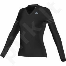 Marškinėliai bėgimui  Adidas Response Long Sleeve Tee W AX6553