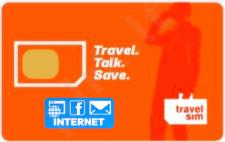 TravelSim+INTERNET tarptautinio ryšio SIM kortelė