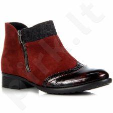Rieker y6461-35 odiniai  auliniai batai pašiltinti