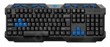 COBRA PRO MT1251 - Multimedia gaming keyboard, 104 keys, 8 additional buttons