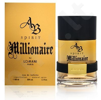 Lomani AB Spirit Millionaire, tualetinis vanduo (EDT) vyrams, 100 ml