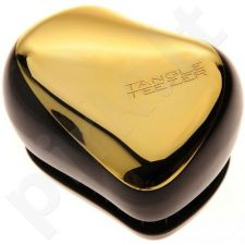 Tangle Teezer Compact Brush Gold Fever, 1ks, kosmetika moterims [Compact brush shiny gold]