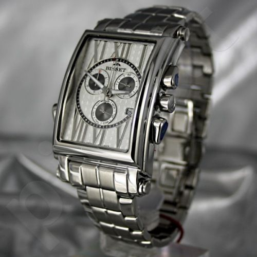 Vyriškas laikrodis BISSET Las Plattas XB2DC39SRSX