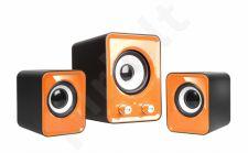 Speakers 2.1 TRACER OMEGA Orange USB