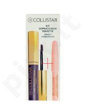 Collistar Eyebrow Gel 3in1, rinkinys antakių tušas moterims, (3ml Eyebrow gelis 3in1 + 1,2g Brightening antakių kontūrų pieštukas), (2 Castano Asia)