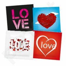 Prezervatyvai Pasante Love (1 vnt)