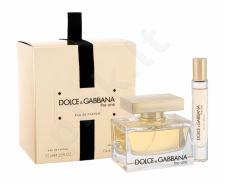 Dolce&Gabbana The One, rinkinys kvapusis vanduo moterims, (EDP 75 ml + EDP 7,4 ml)