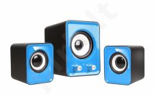 Speakers 2.1 TRACER OMEGA Blue USB
