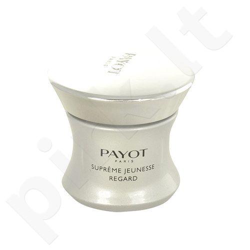 Payot Supreme Jeunesse Regard akių krems, kosmetika moterims, 15ml