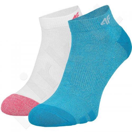 Kojinės W 4F C4L16-SOD002 baltas , mėlyna