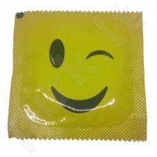 Prezervatyvai Pasante Smiley  (1 vnt)
