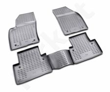 Guminiai kilimėliai 3D VOLVO S40 2004-2012, 4 pcs. /L64003G /gray
