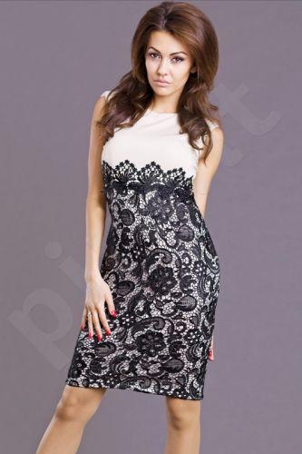 Emamoda suknelė - kreminė 6817-4