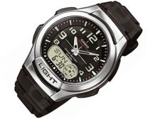 Casio Collection AQ-180W-1BVES vyriškas laikrodis-chronometras